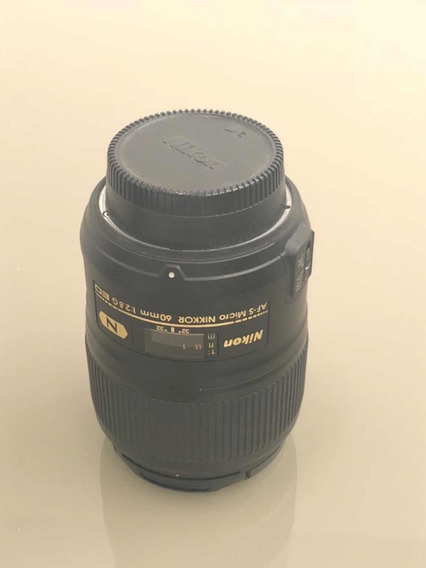 Lente Micro Nikkor 60mm F/2.8g Ed