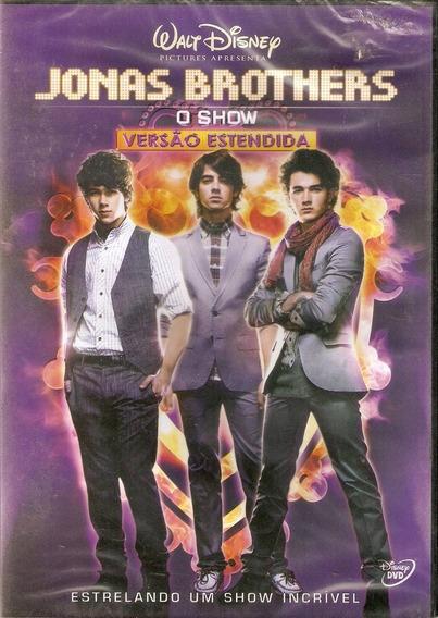 Dvd - Jonas Brothers O Show Versão Estendida - Lacrado