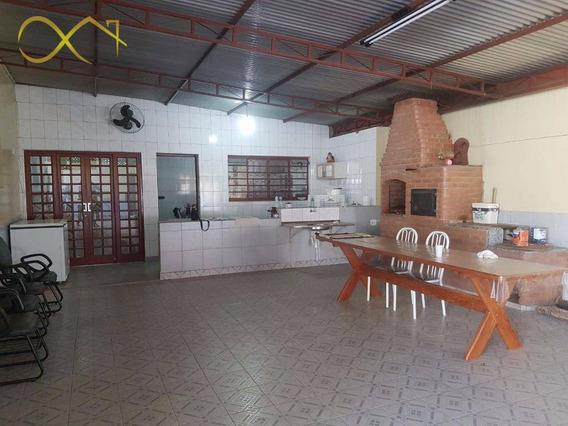 Chácara Com 1 Dormitório À Venda, 400 M² - São José - Paulínia/sp - Ch0063