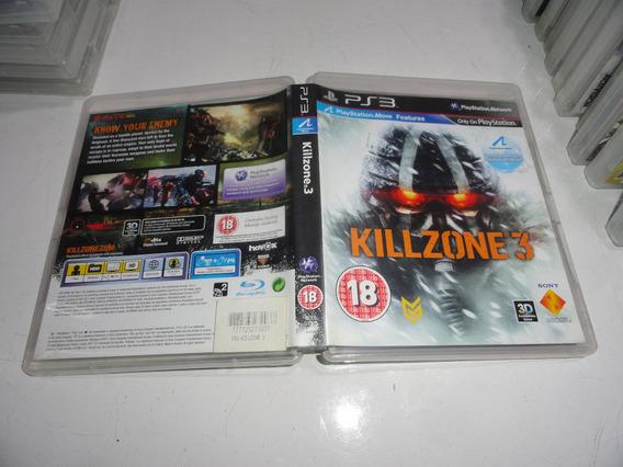 Killzone 3 Ps3 Midia Fisica Original Black Label