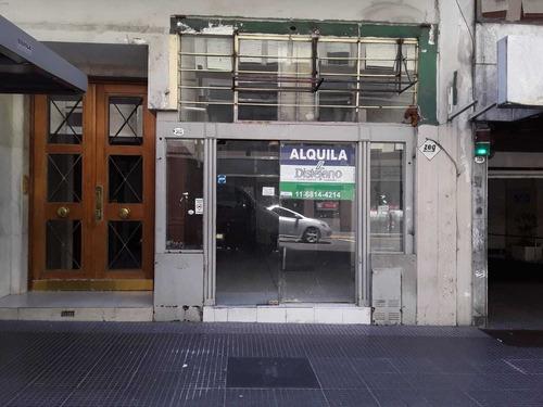 Centro / Local Av Corrientes 300 , En Alquiler
