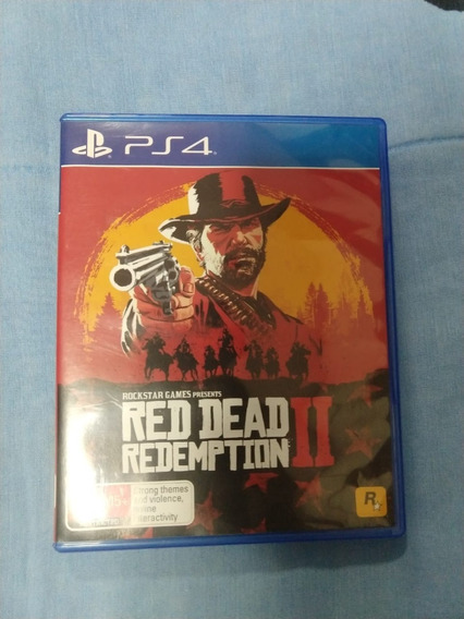 Jogo Red Dead Redemption 2 Ps4 Midia Fisica