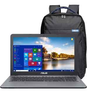 Laptop Gamer Asus Amd A6 8gb 500gb 15.6 Win10 + Mochila