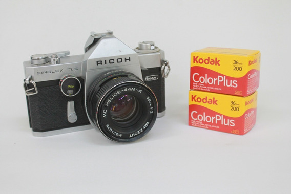 Câmera Ricoh _ Com Filmes _ Funcionando _ 35mm Vintage