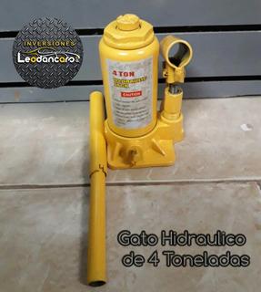 Gato Botella Hidraulico 4 Toneladas