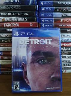 Detroit Become Human Ps4 Fisico Spacegaminglomas