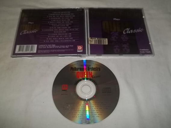 Cd - Queen - Classic - Philharmonic Orchestra