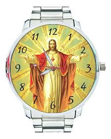 Relógio Sagrado Coração De Jesus Igreja Católica Religião