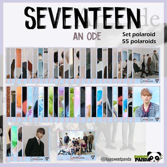 Kpop | Kit Set De Polaroids Seventeen Com 55 Polaroids