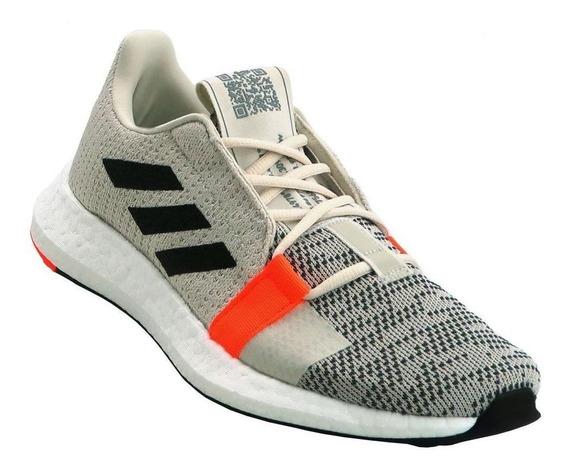 Tênis Running adidas Feminino Senseboost Go G26944 Cru