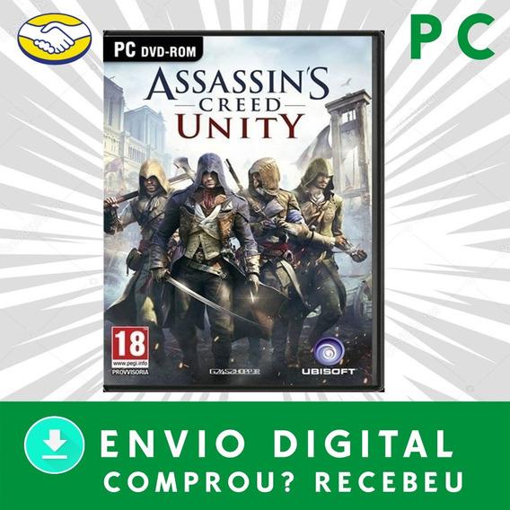Assasins Creed (unity) Pc Digital +1 Jogo