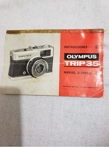 Manual Máquina Fotográfica Olympus Trip 35