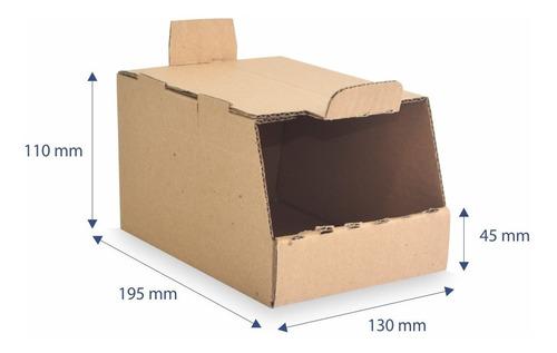 Caixa Papelão Organizadora Estoque Colmeia  Gf02 25 Unidades