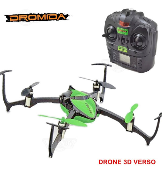 Mini Drone Verso Manobra 3d Quad Dromida + Brinde Top Racing