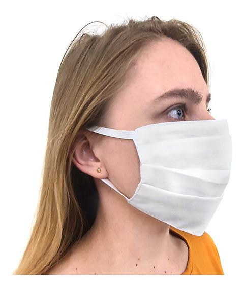 Máscara Respiratória 100% Algodão - Kit 30 Unidades