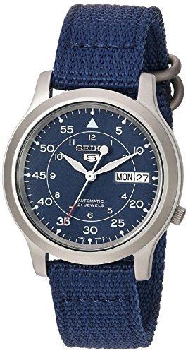 Seiko Snk807 - Reloj Analógico Automático Seiko 5 De Acero