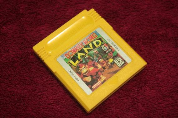 Donkey Kong Land 100% Original Americano Para Game Boy