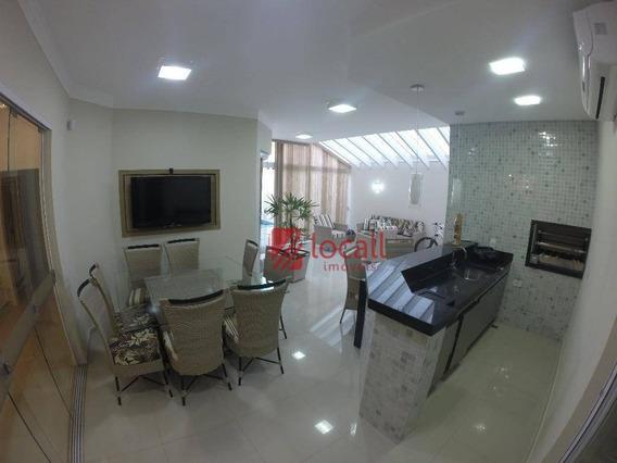 Casa Residencial À Venda, Parque Residencial Damha V, São José Do Rio Preto. - Ca1026