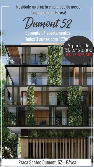 Dumont 52 - Apartamento De 3 Quartos Com 177m2