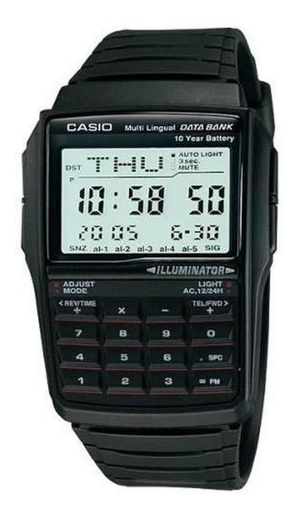 Relogio Casio Dbc 32-1a Databank Calculadora Alarme Cronomet
