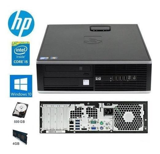 Cpu Completa Core I5 Hp 8200 4gb Hd500 Wifi Win10