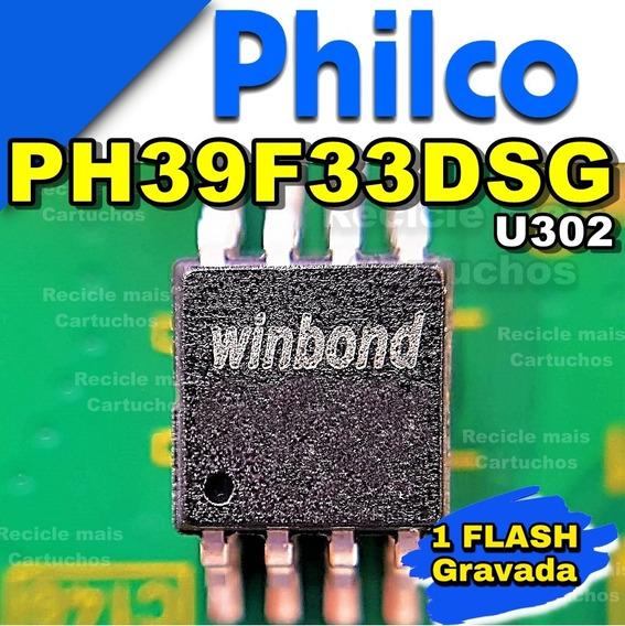 Memoria Flash Tv Philco Ph39f33dsg Led Bios Chip Gravada