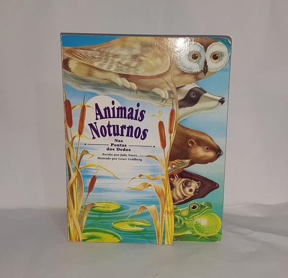 4 Livros Infantis Capa Dura Répteis Animais Noturnos Vida N