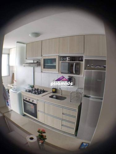 Apartamento À Venda, 45 M² Por R$ 200.000,00 - Parque Residencial Flamboyant - São José Dos Campos/sp - Ap12886