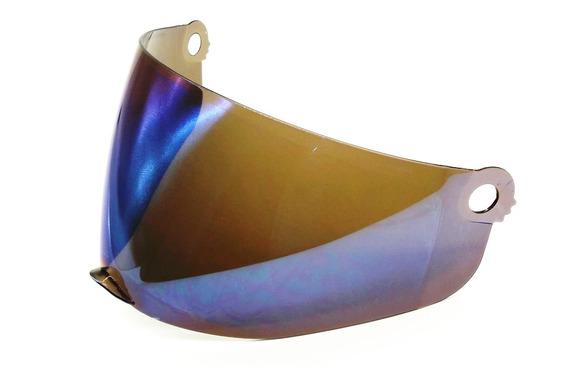 Viseira Azul Iridium Capacete Protork Cross Th1 Vision