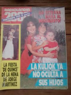 Radiolandia2000 1989 Luisa Kuliok Spinetta Pablo Ruiz Monzon