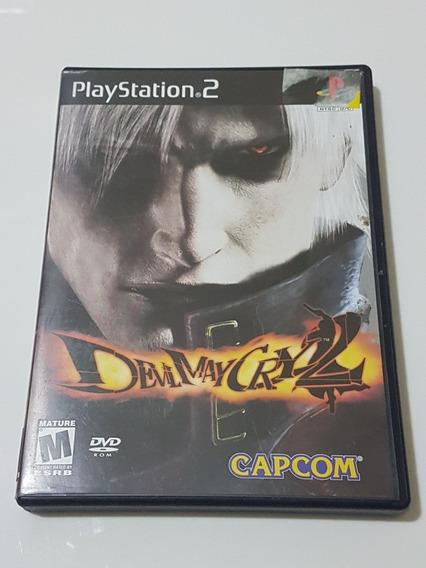 Capa Devil May Cry 2 Original Para Playstation 2