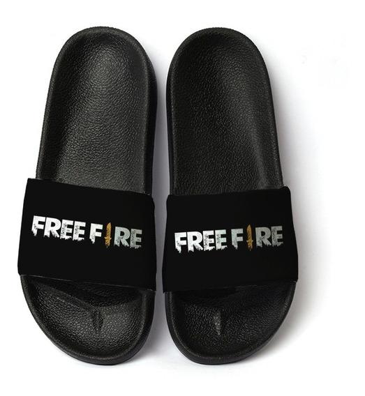 Chinelo Slide Jogo Free Fire Unissex Promoção 2019