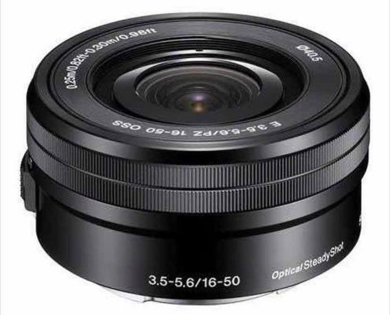 Lente Sony 16-50mm F3 .5/5.6 Oss A6300 A6000 A5000 Alpha