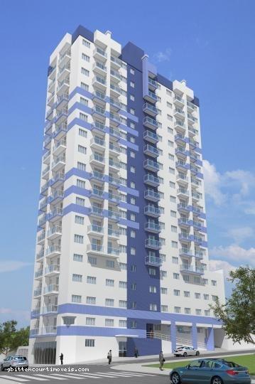 Apartamento Para Venda Em Ponta Grossa, Centro, 1 Dormitório, 1 Banheiro - 48_2-104354