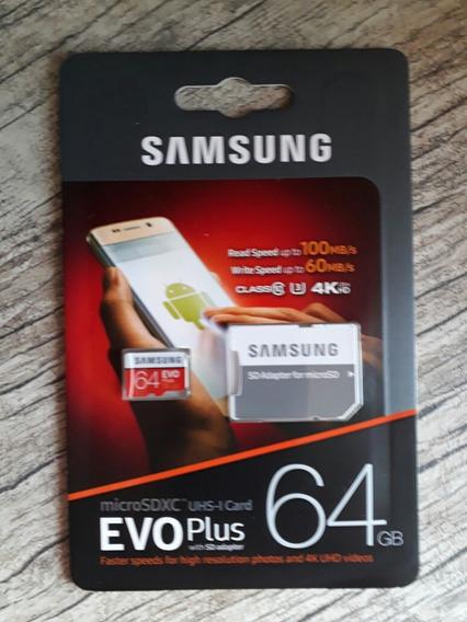 Samsung Micro Sdxc Evoplus 64gb