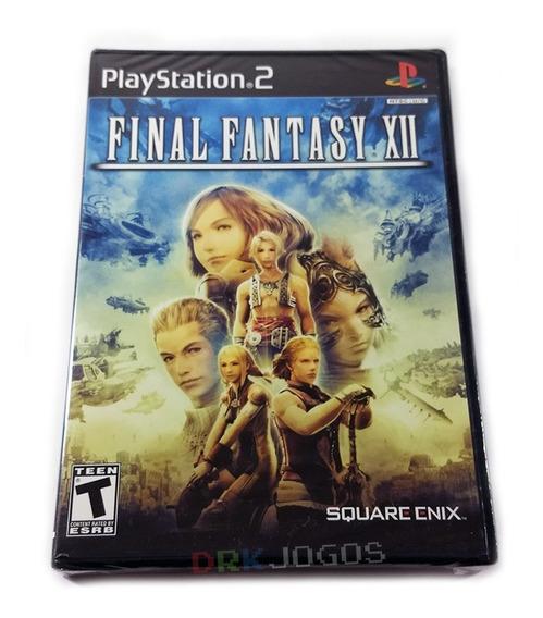 Final Fantasy Xii 12 Original Novo Lacrado Ps2 Frete Grátis!