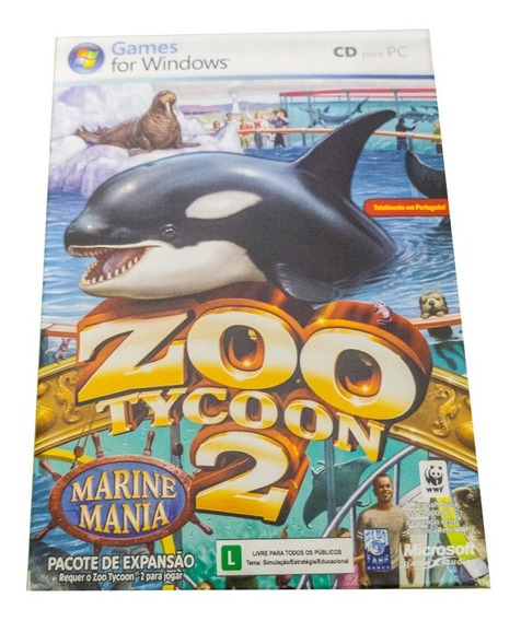 Zootycoon 2 Marine Mania Expansão Original Com Caixa