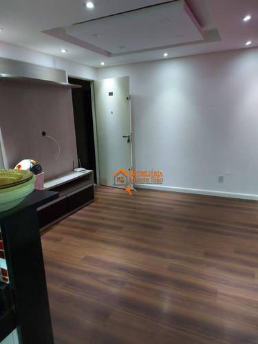 Apartamento Com 2 Dormitórios À Venda, 43 M² Por R$ 210.000,00 - Vila Alzira - Guarulhos/sp - Ap2949