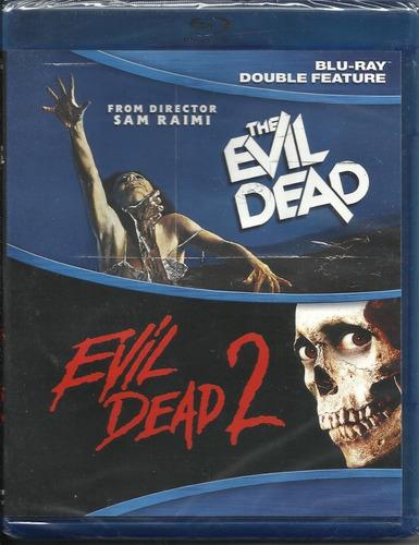 The Evil Dead / Evil Dead Ii Blu Ray Película Nuevo Importad