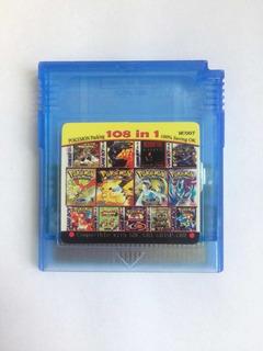 Pokemon Yellow Gb Cartucho Con 108 Juegos