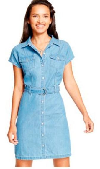 Vestido Jeans Importado Corto Mujer Impobuenos