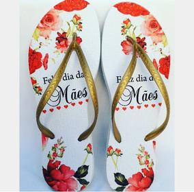 16743605e2 Chinelo Personalizado Dia Das Mães - Calçados