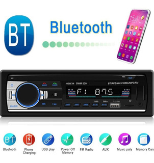 Radio Reproductor Bluetooth Para Carro Mp3 Usb