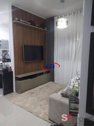 Apartamento À Venda, 50 M² Por R$ 220.000,00 - Santa Terezinha - São Bernardo Do Campo/sp - Ap3272