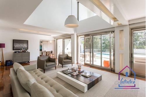 Imagem 1 de 26 de Casa Com 3 Dormitórios À Venda, 388 M² Por R$ 4.900.000,00 - Vila Tramontano - São Paulo/sp - Ca1284