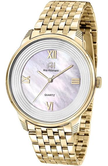 Relógio Ana Hickmann Ah28919h Dourado