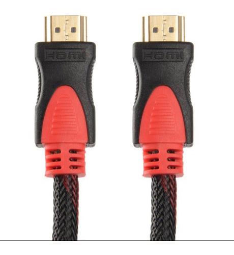 Imagen 1 de 5 de Cable Hdmi 3 Mts Full Hd 1080p Pc Notebook Lcd Led Ps3