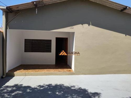 Casa À Venda, 102 M² Por R$ 245.000,00 - Parque São Sebastião - Ribeirão Preto/sp - Ca2546