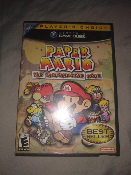 Paper Mario Gamecube Original Americano