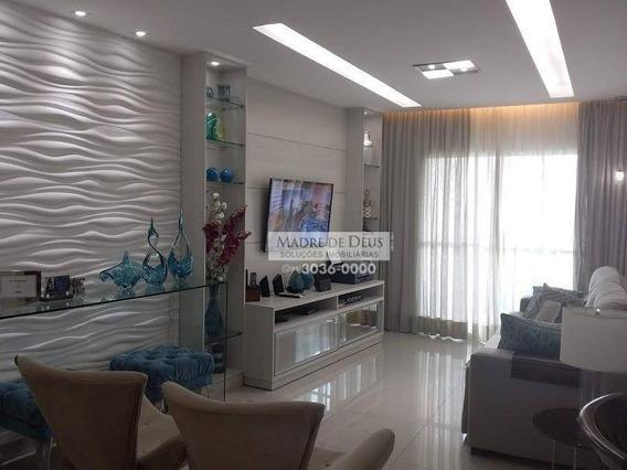 Apartamento Com 3 Dormitórios À Venda, 120 M² Por R$ 1.080.000 - Aldeota - Fortaleza/ce - Ap3273